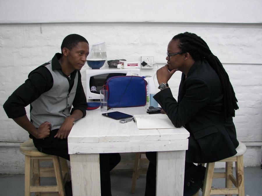 Interview with Senzo Njabulo Shabangu @BagFactoryI 28112014