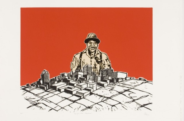 Senzo Njabulo Shabangu, Life for Rent, 2011 (900 x 956cm)