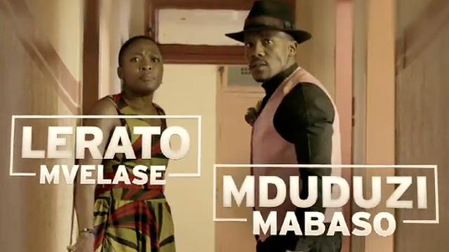 Lerato Mvelase (as Refilwe) and Mduduzi Mabaso (as Motheo) in For Love and Broken Bones. Image source: http://cdn.dstv.com/mms.dstv.com/Content/Images/DStv/Mzansi/Promo/mz_promo_for_love_and_broken_bones.jpg