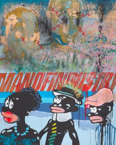 Beauchamp, Mxolisi Vusimuzi. New Industry, 2015. Mixed Media.