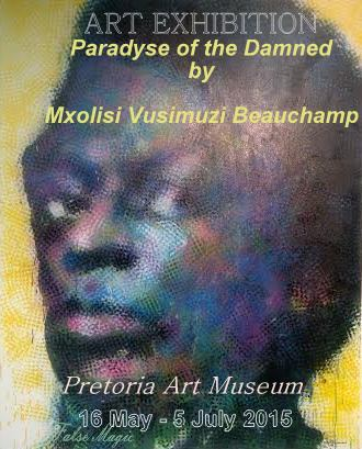BEAUCHAMP, Vusi. The Great Maestro, 2015. Mixed Media