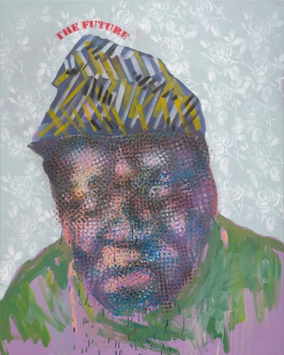 Beuchamp, Mxolisi Vusimuzi. The Future, 2015. Mixed Media.