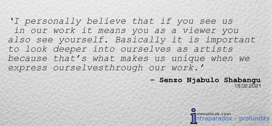 #quote, Senzo Njabulo Shabangu