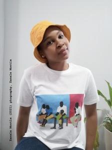 Zanele Montle, self-portrait