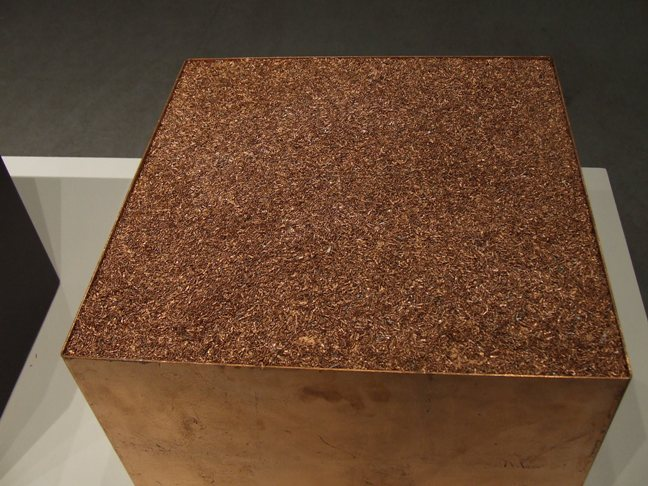 Cu³  Installation (Detail) 3 Granulated Copper